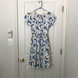 Girls Lands End Circle dress